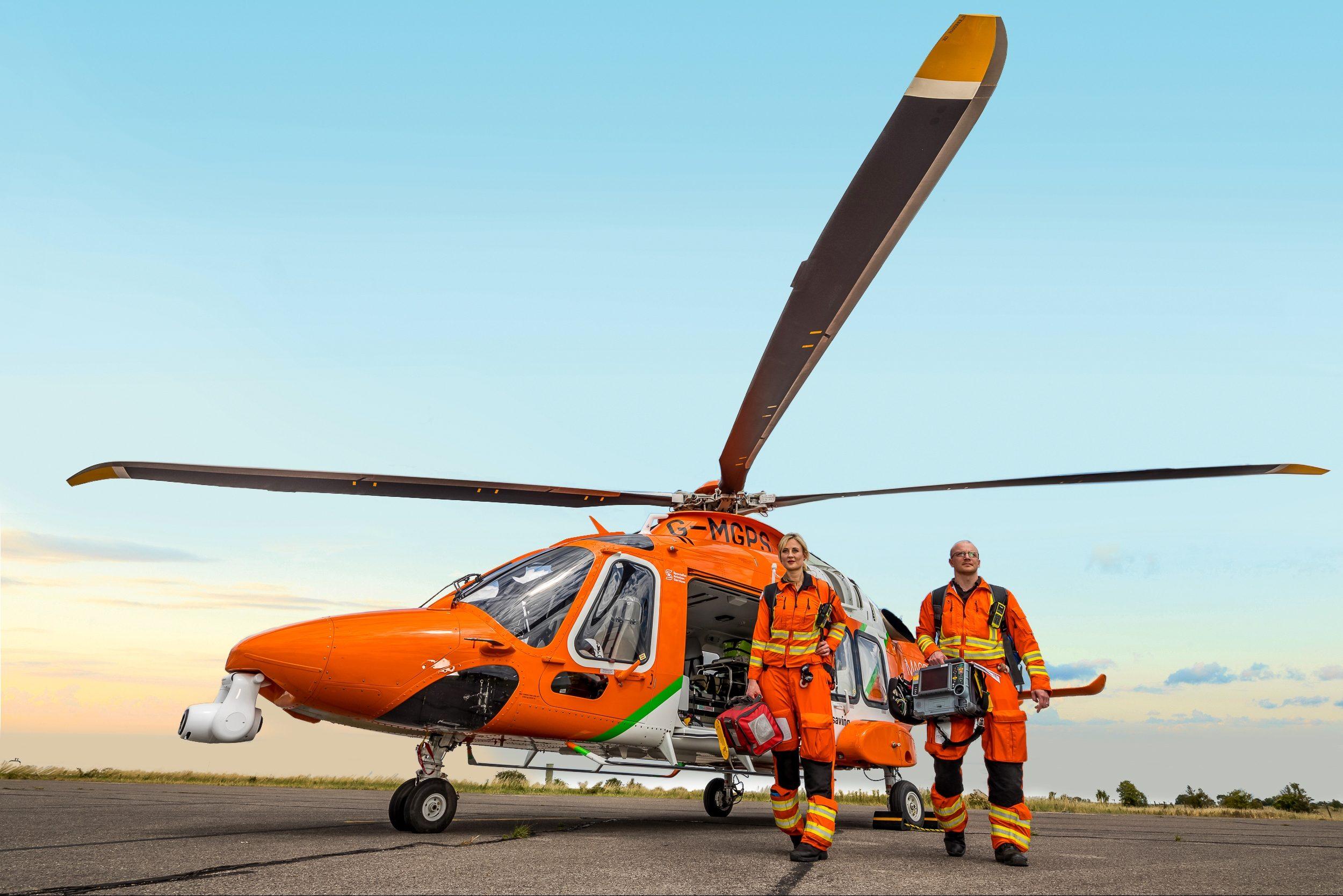 £3,935 for MAGPAS Air Ambulance