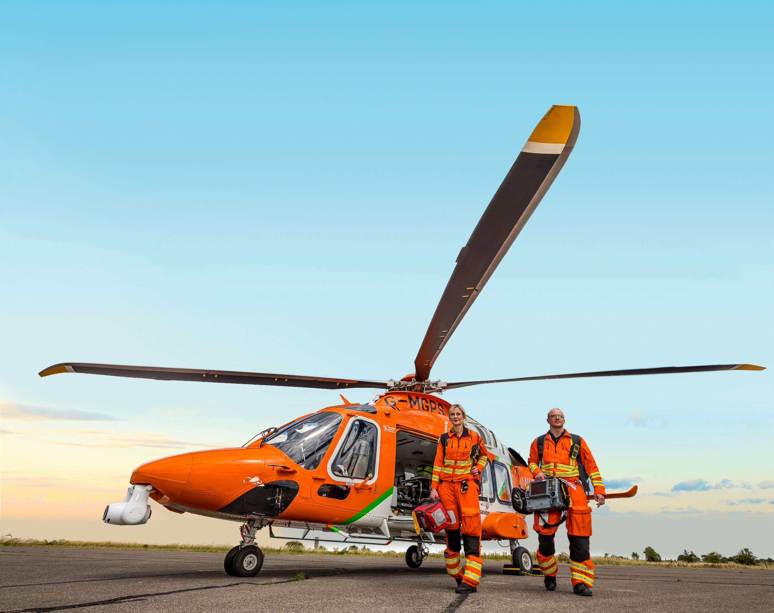 £3,935 for MAGPAS Air Ambulance