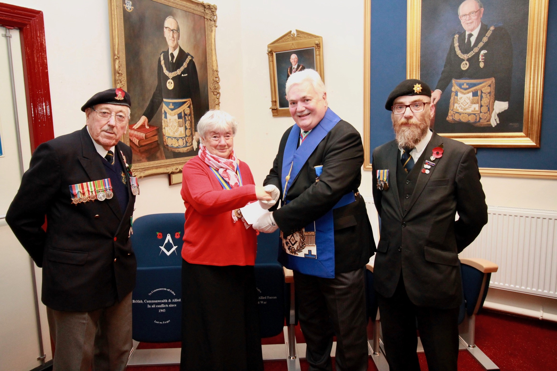 Donation to the Royal British Legion