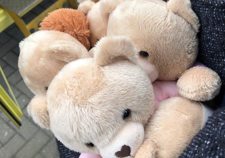Special Delivery of TLC Bears