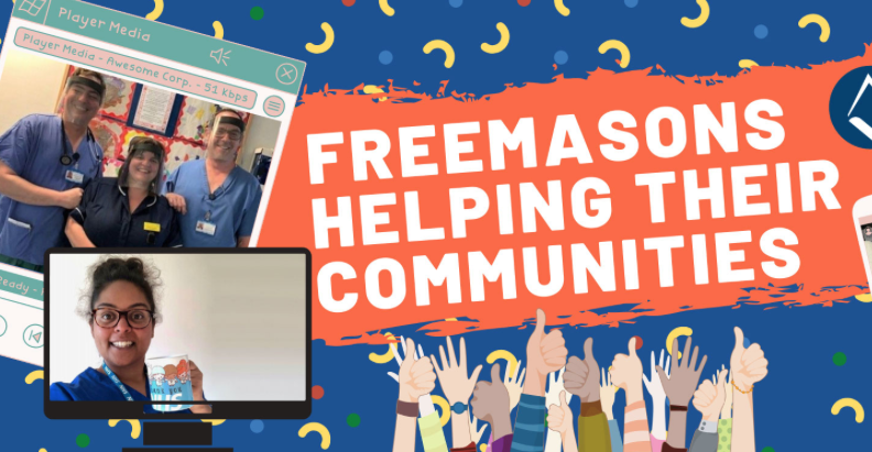 Freemasons Helping Their Communities