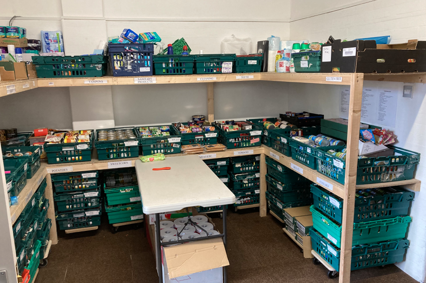 £1,000 for the Need Project Food Bank