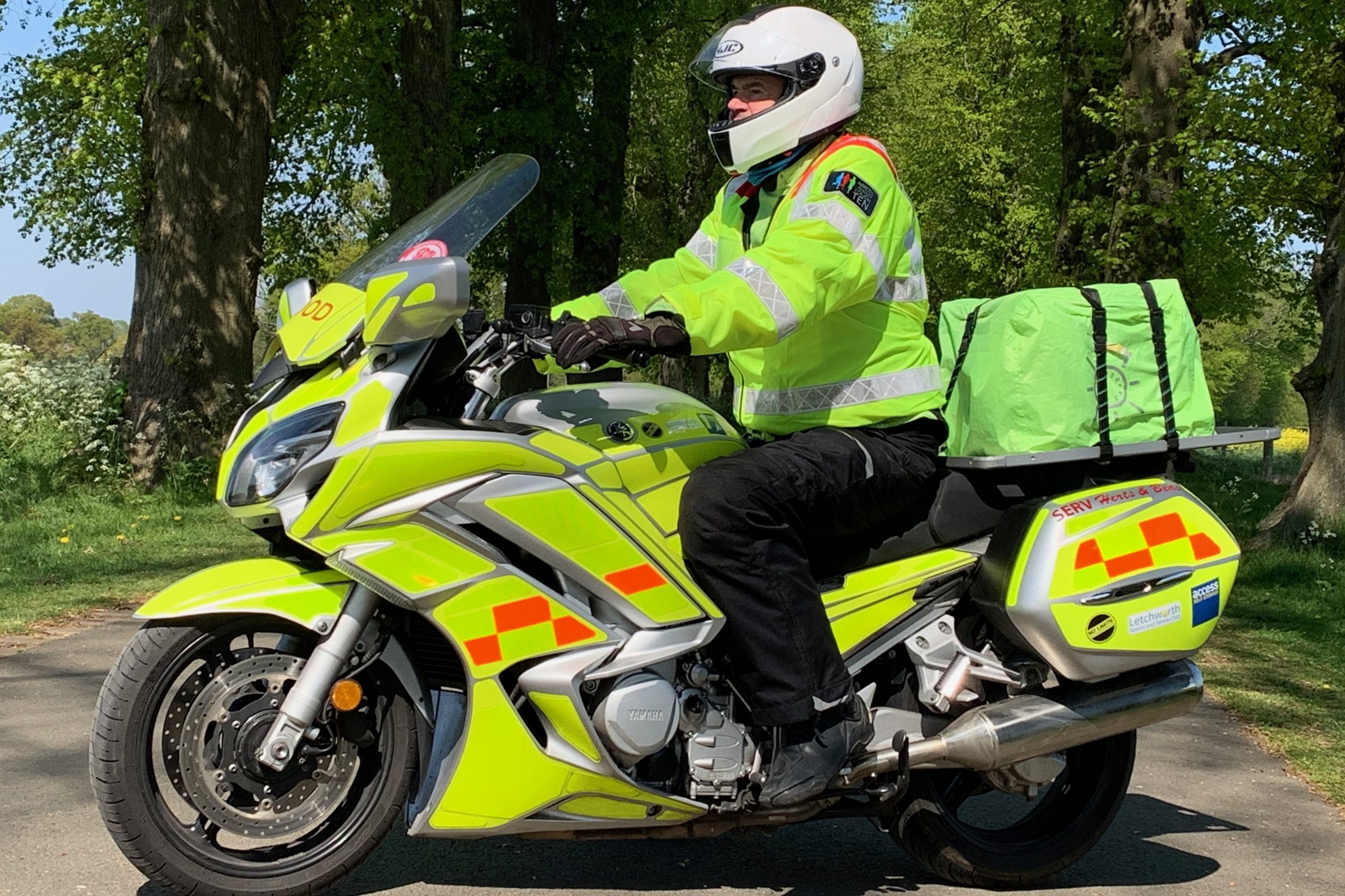 £1,000 for Herts & Beds Bloodbikes