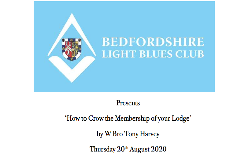 Grow Your Lodge This Thursday