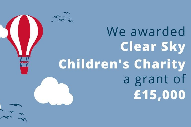 £15,000 helps Clear Sky