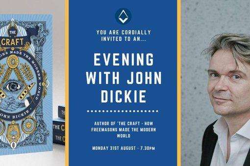 UGLE Host John Dickie Webinar