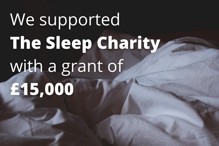 MCF Supports the Sleep Charity