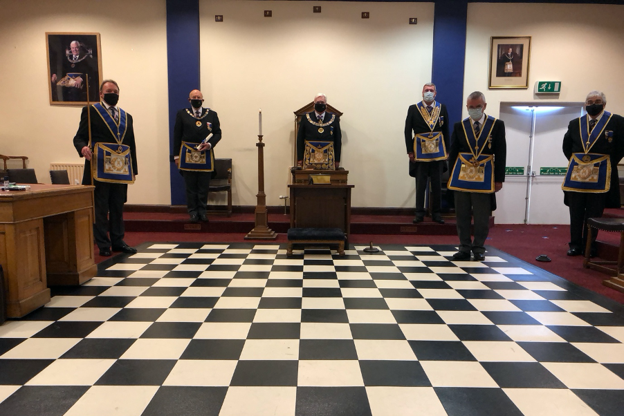 Bedfordshire Provincial AGM and Convocation COVID Style