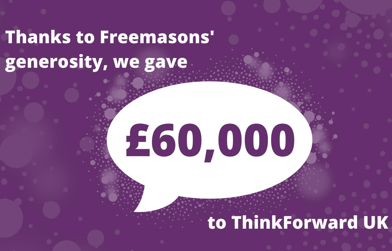 MCF Donate £60,000 to ThinkForward