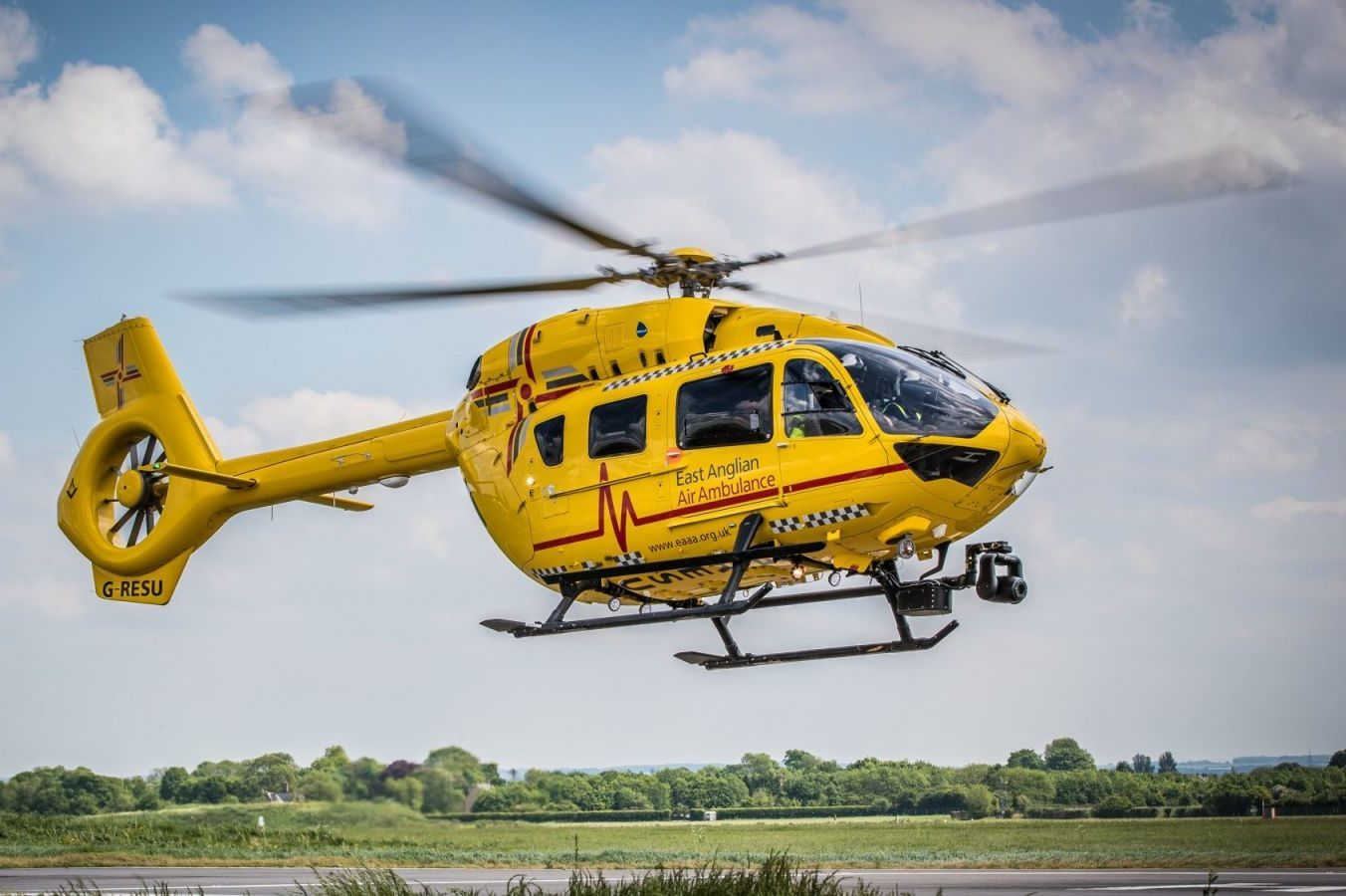 £10,000 for Region's Air Ambulances