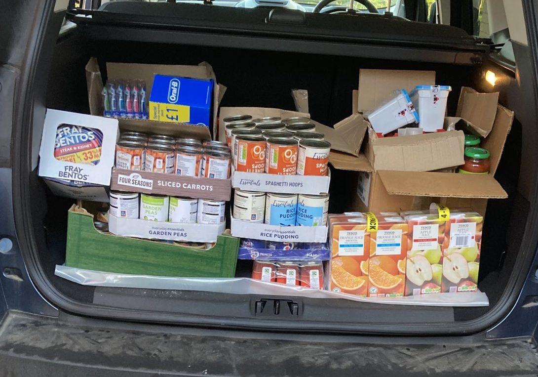 Elstow Lodge Feed the Foodbank
