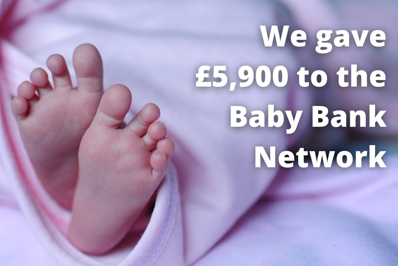 MCF Gives £5,000 to the Baby Bank Network