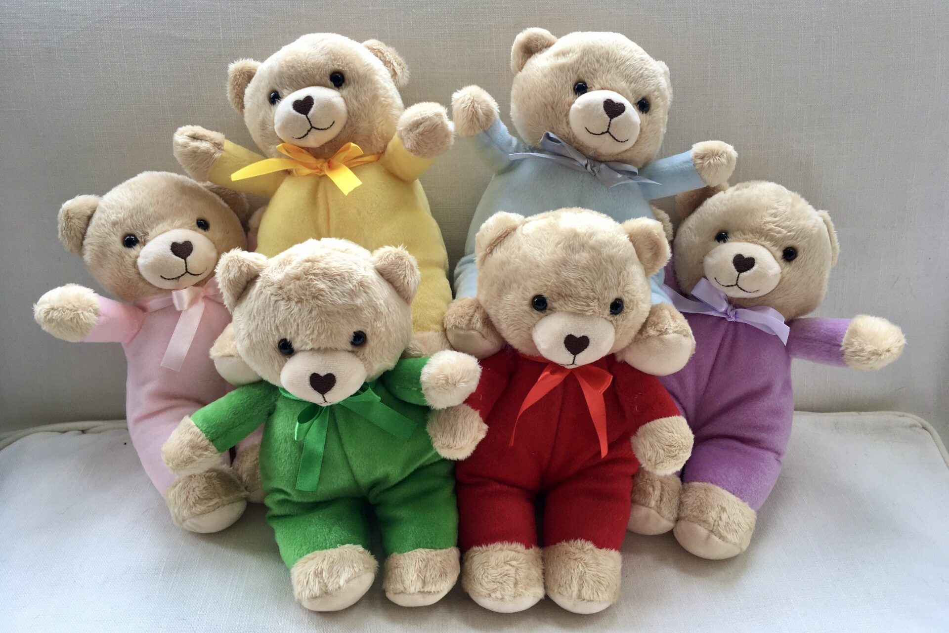 The Teddies with the Heart Shaped Nose