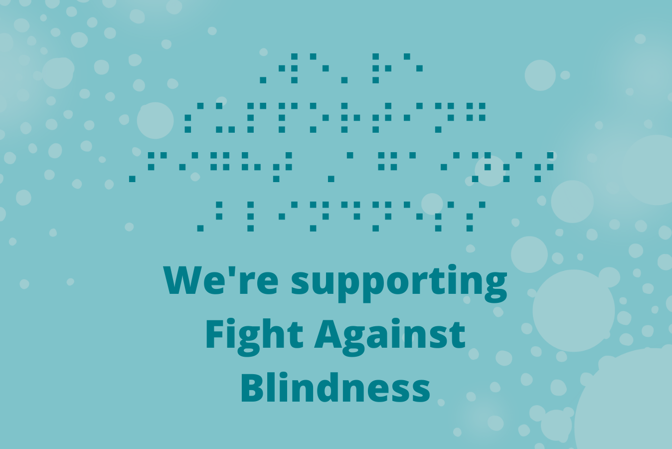 Supporting Fight Against Blindness