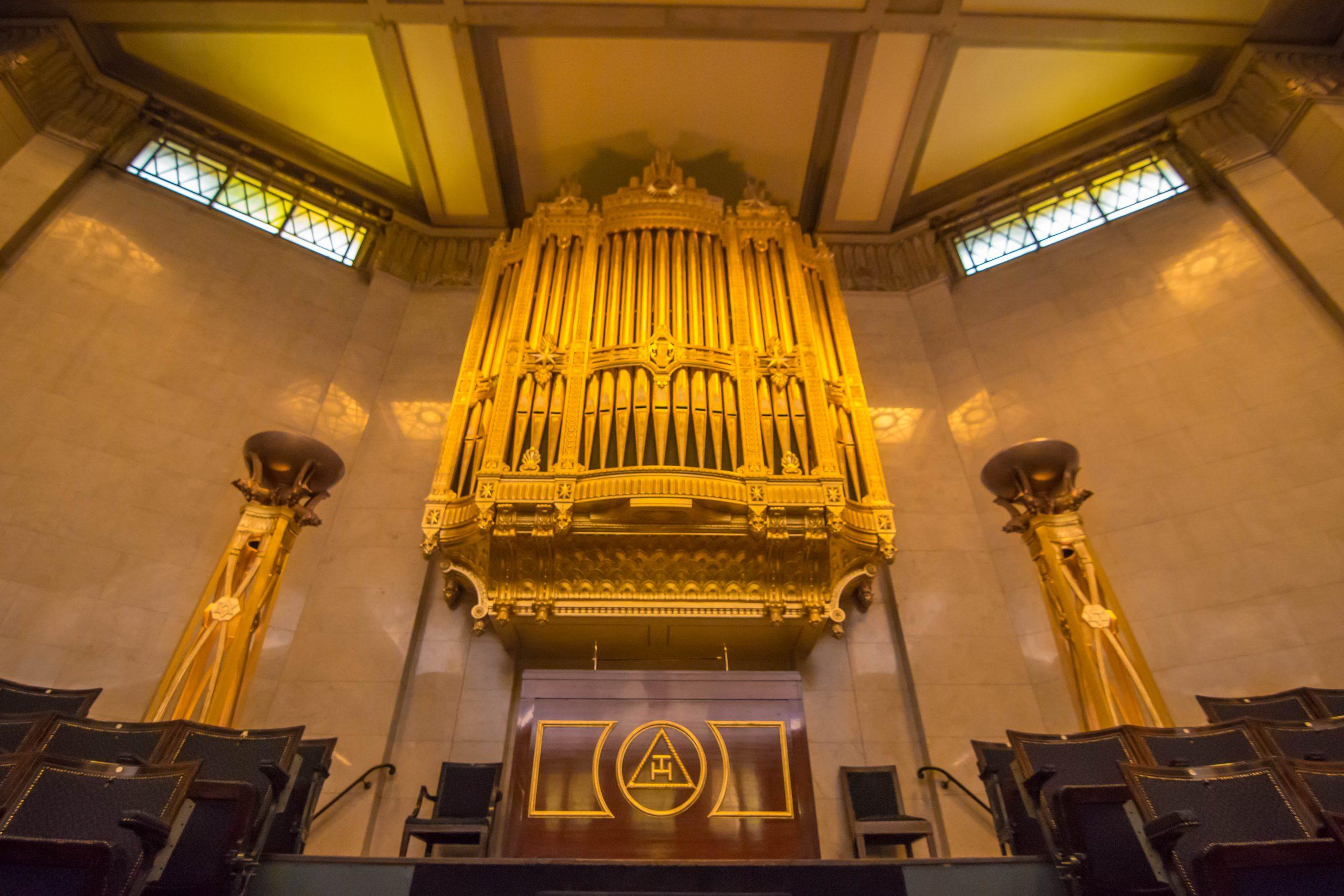 Freemasons' Hall Organ Concert Tomorrow