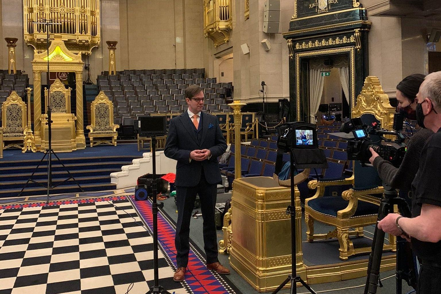 Royal College of Organists Event at Freemasons' Hall