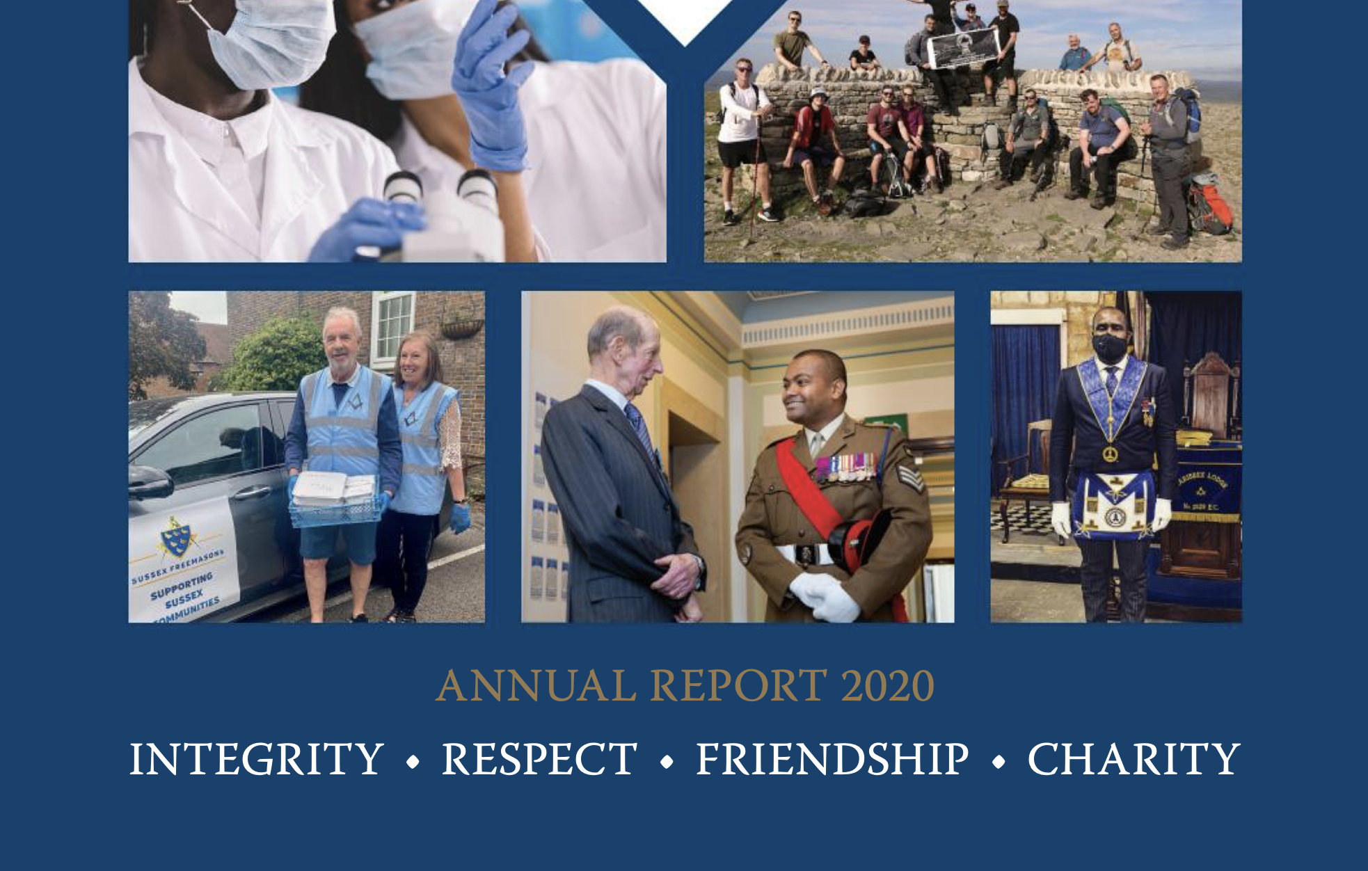 UGLE Publishes First Ever Annual Report