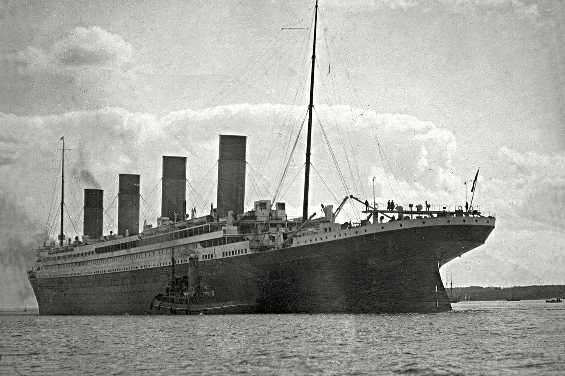 Tale of the Titanic Twins