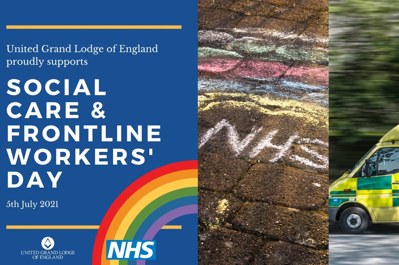Freemasons Take Lead Role in NHS Frontline Workers' Day