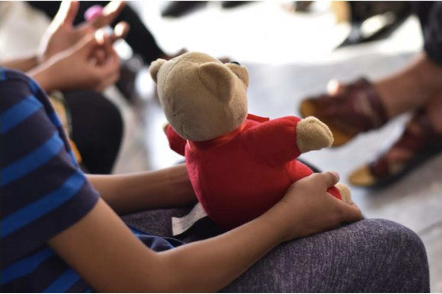 TLC Teddies Bringing Comfort to Afghan Refugees