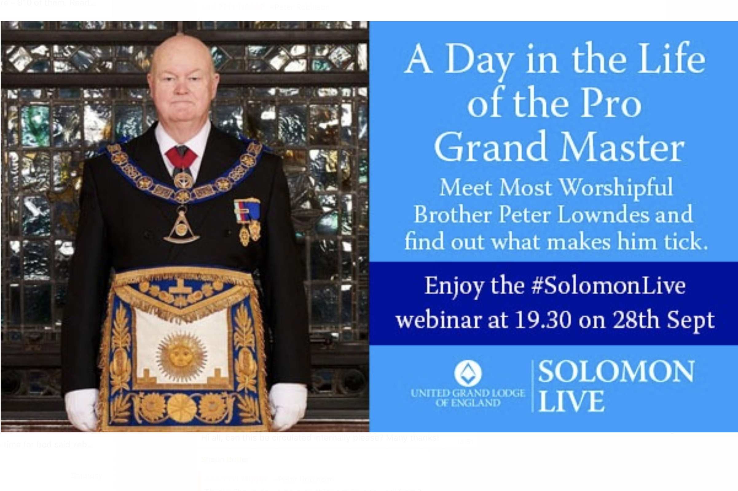 """""""A Day in the Life of the Pro Grand Master"""" on Solomon Live"""
