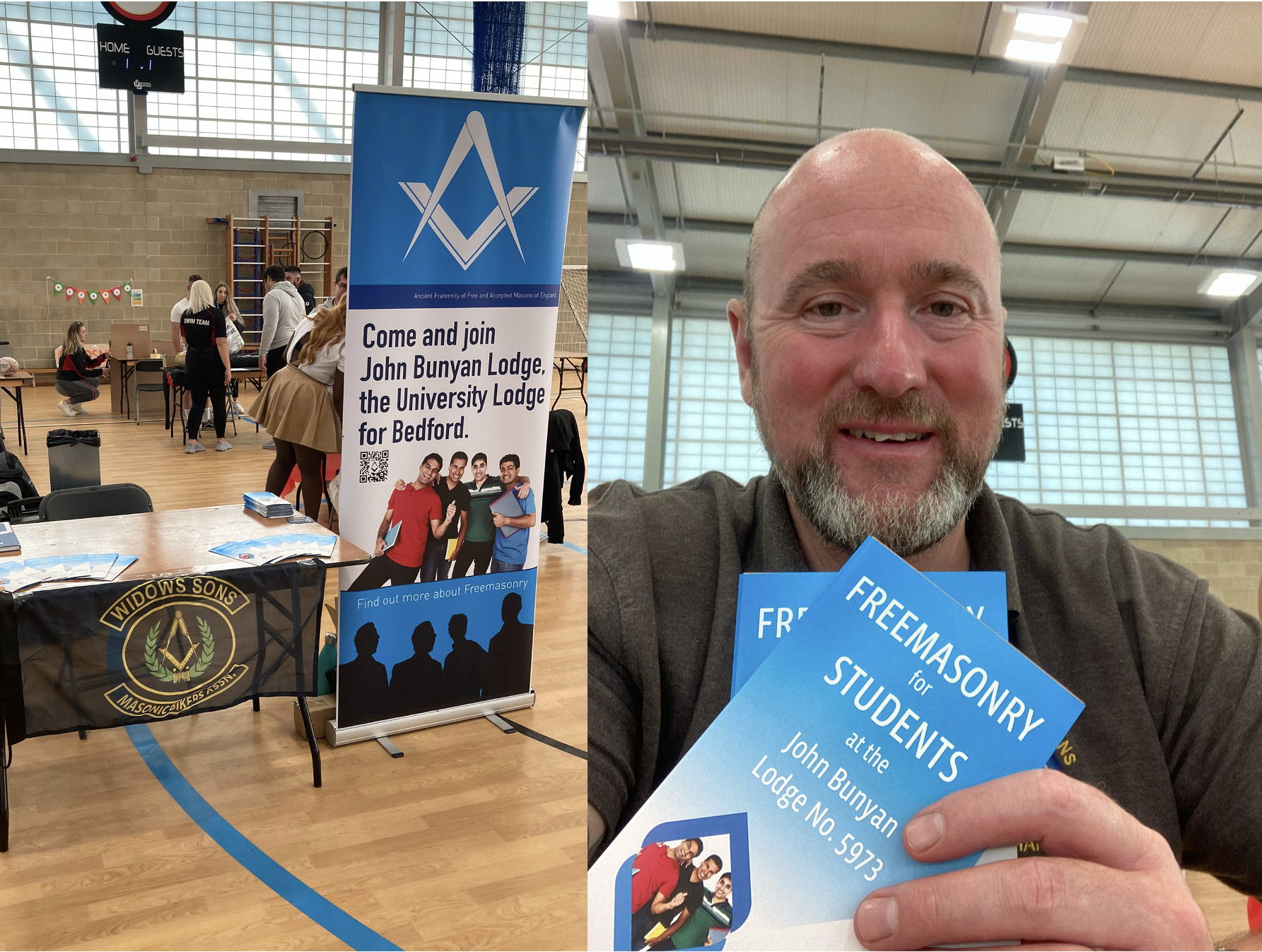 First Freshers Fair Visit for New Universities' Scheme Lodge