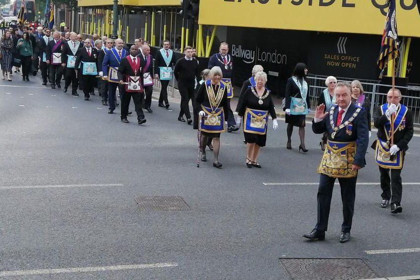 Freemasons on Parade