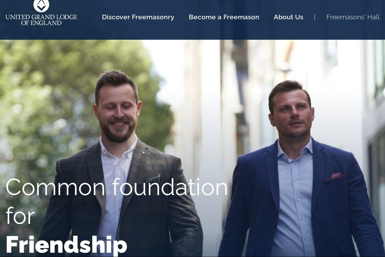 New UGLE Website Launched